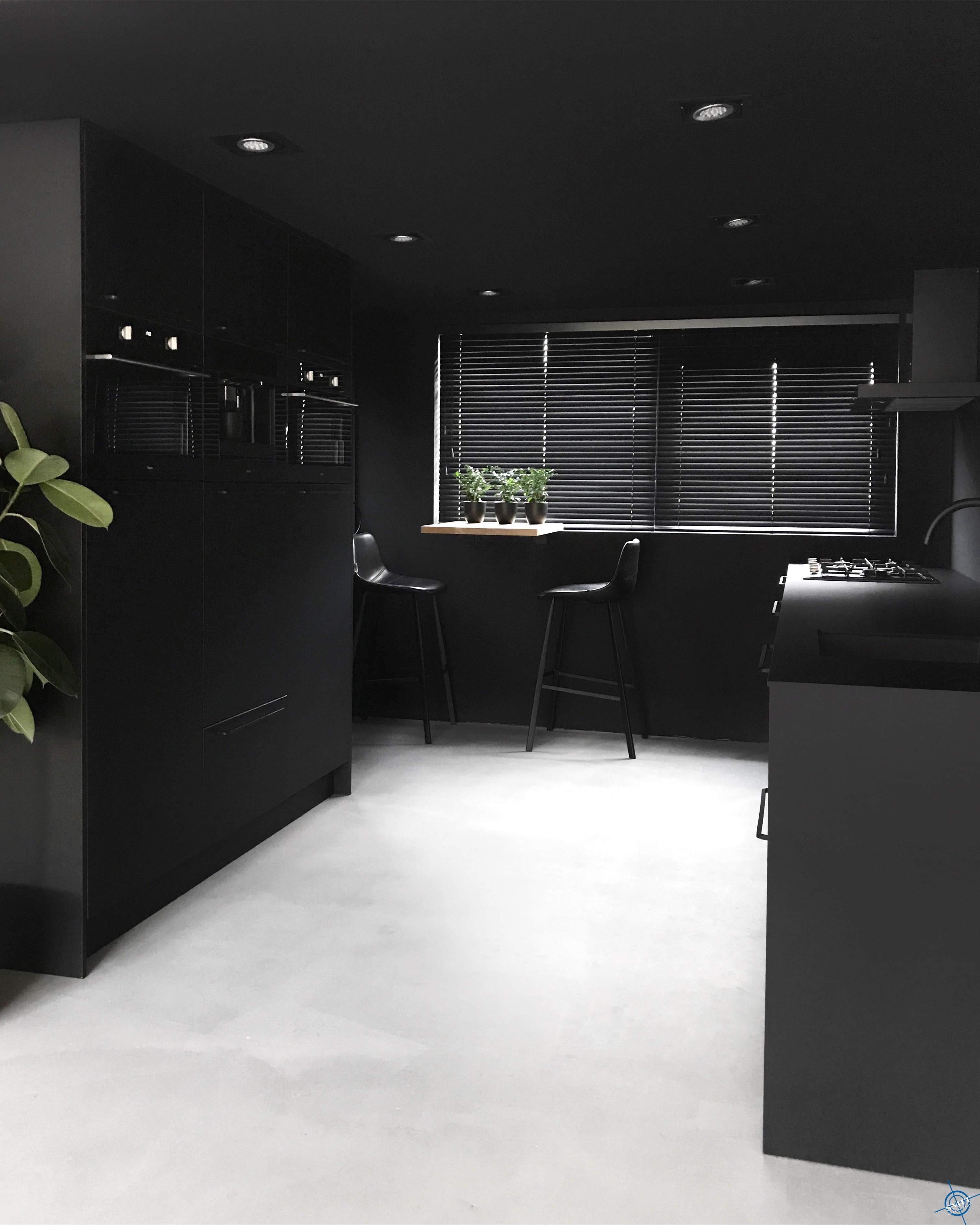 KeukenMatZwart2
