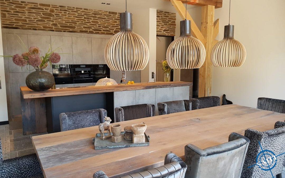 Keuken beton leisteen grijs